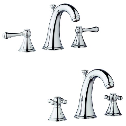 Grohe geneva widespread bathroom faucet less handles for Bathroom 4 less review