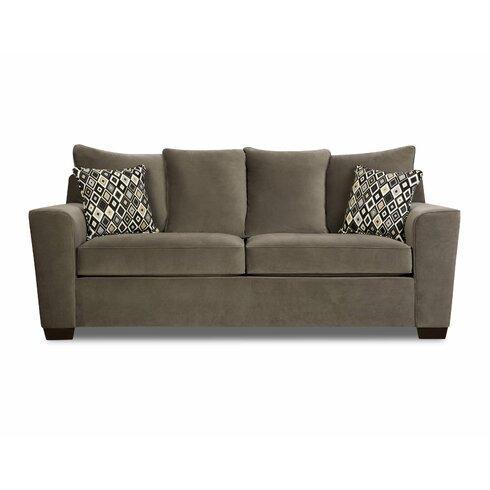Simmons Upholstery Roxanne Queen Sleeper Sofa & Reviews