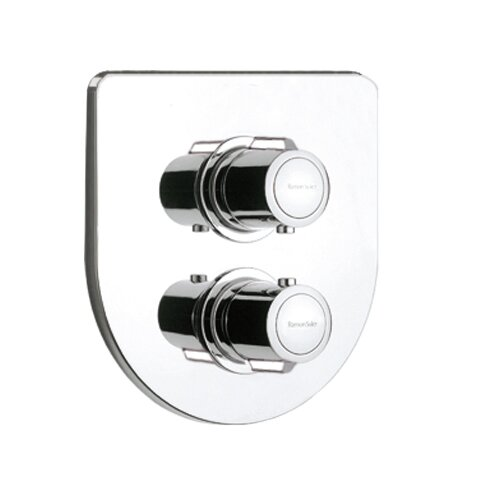 Thermoarola Twin Concealed Shower Valve with diverter