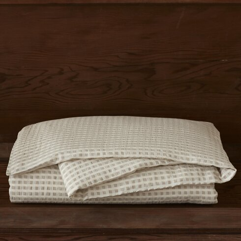 Birch Cotton and Linen Duvet Collection
