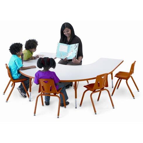 """KYDZ Suite 66"""" x 60"""" Horseshoe Activity Table"""