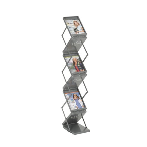 6 Pocket Folding Display