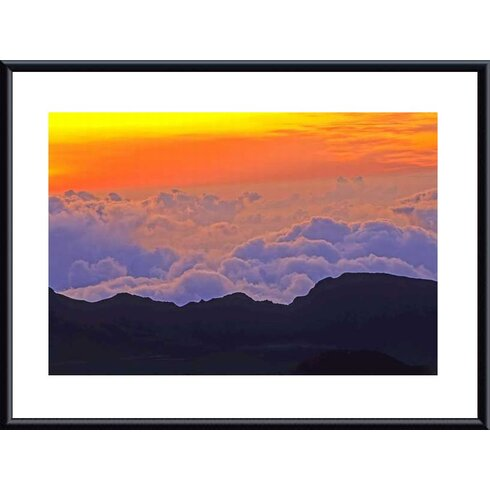 'Haleakala Sunrise' by John K. Nakata Framed Photographic Print