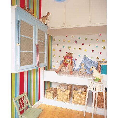 Kids at Home 10m L x 52cm W Roll Wallpaper