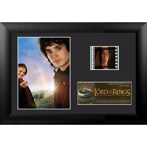 Lord of the Rings: Fellowship of the Ring Mini FilmCell Presentation Framed Vintage Advertisement
