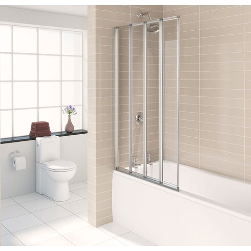 140cm Folding Bath Screen
