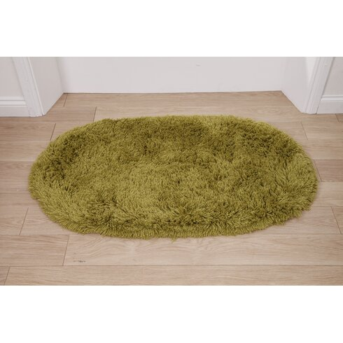 Rainbow Green Area Rug