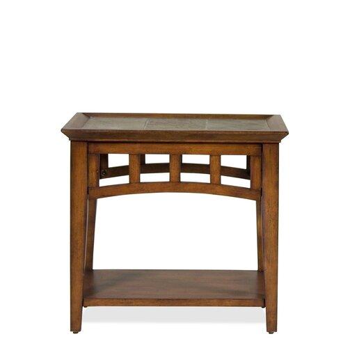 Riverside Furniture Andorra End Table Amp Reviews Wayfair