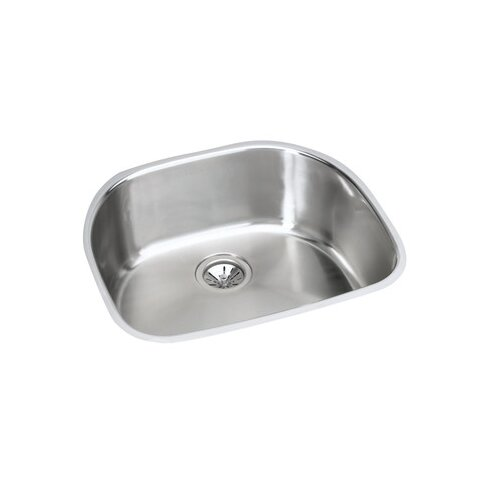 "Harmony 23.56"" x 21.13"" Kitchen Sink with Drain Assembly and Bottom Grid"