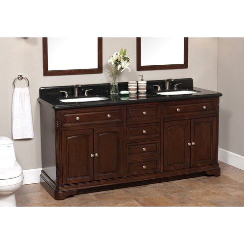 Lanza Luton 72 Double Bathroom Vanity Set Reviews Wayfair