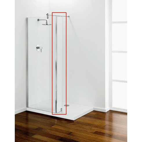 23cm x 8cm x 192cm Return Panel for Tube Shower Panels