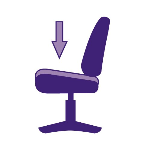 Managers High-Back Executive Chair with Lumbar Support