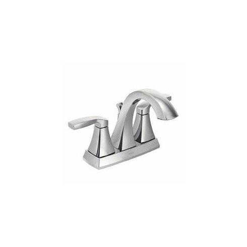 Voss bathroom furniture - Moen Voss Two Handle Centerset High Arc Bathroom Faucet