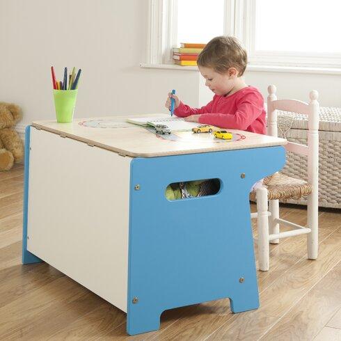 Race Track Toy Box / Desk