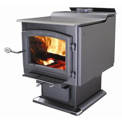 Ponderosa 3,200 Square Foot Wood Stove with Blower - Vogelzang Ponderosa 3,200 Square Foot Wood Stove With Blower