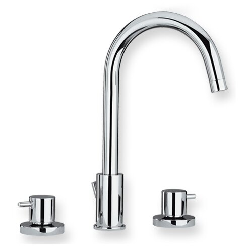 Luxe Widespread Bathroom Faucet with Double Handles