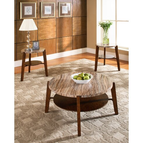 Steve Silver Furniture Tivoli 3 Piece Coffee Table SetReviews