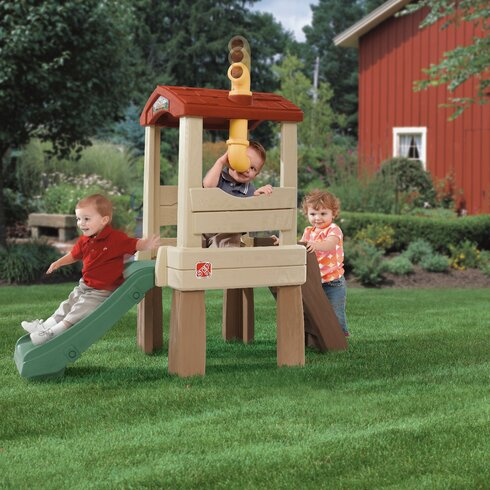 Step2 Naturally Playful Lookout Treehouse Playhouse ...
