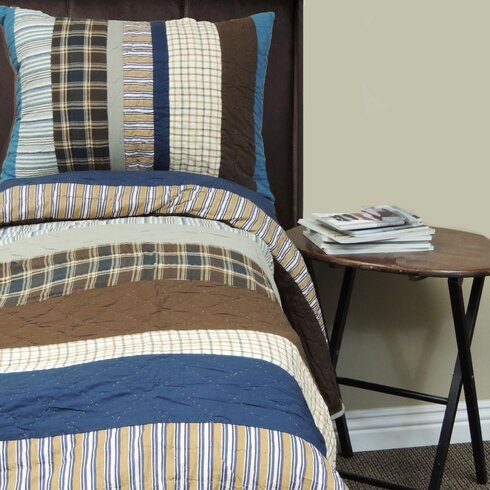 Amity home jake quilt set reviews wayfair for Jake quilted bedding