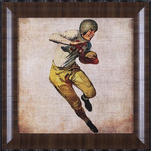 Art effects vintage sports iii by john butler framed for Vintage basketball wall art