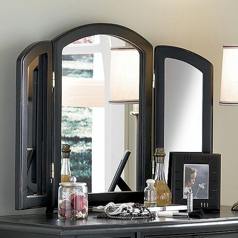 Powell Antique Black Vanity Set With Mirror Amp Reviews