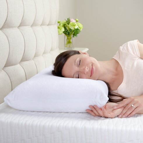 Washing pillows with memory foam