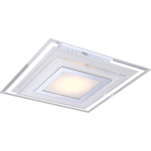 Amos 1 Light Flush Ceiling Light