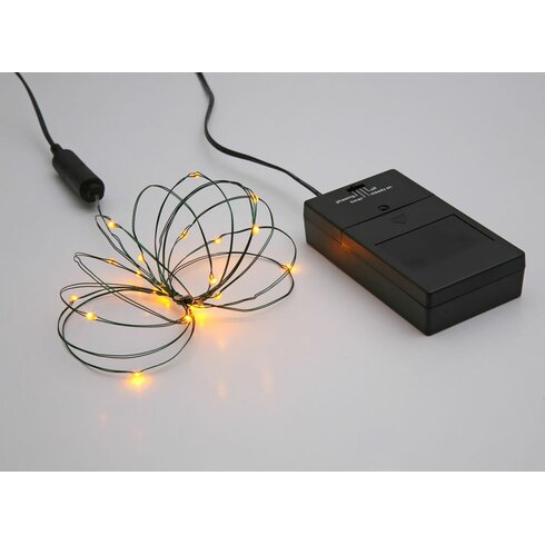 Vickerman 24 light bo timer micro led battery light set for Small led lights for crafts michaels
