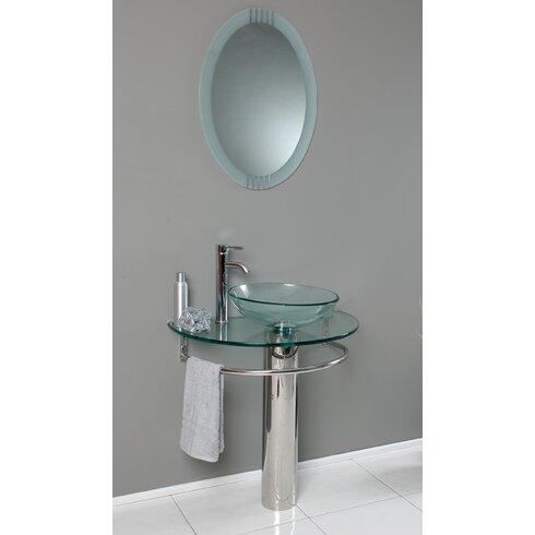 Fresca Vetro 30 Single Attrazione Modern Bathroom Vanity Set With Mirror Reviews Wayfair