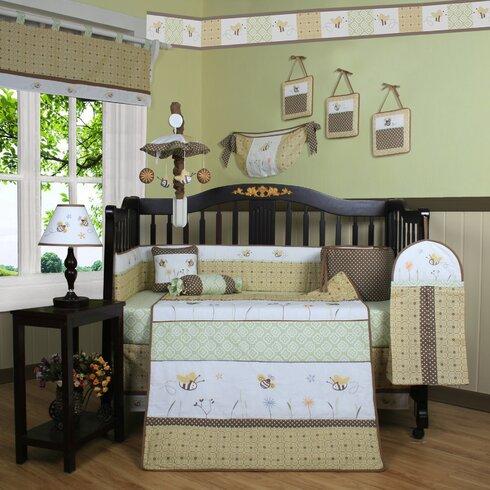 Bumble Bee Baby Bedding Crib Sets