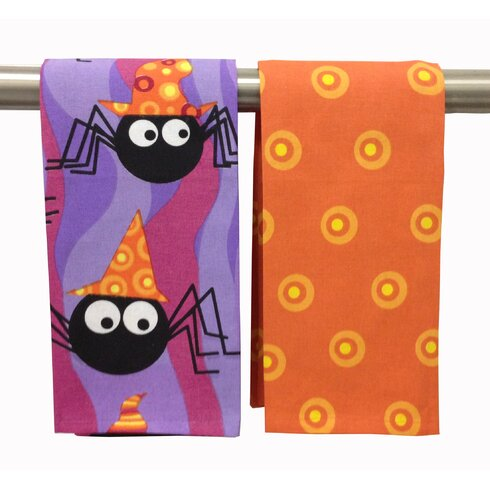 Funky Spiders Kitchen Towel