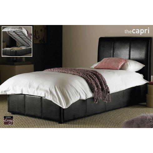 Capri Single Upholstered Bed Frame