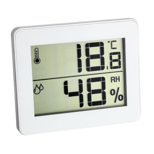 Ultra Thin Thermo - Hygrometer