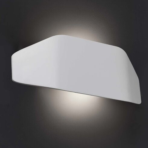 Future 1 Light Flush Wall Light