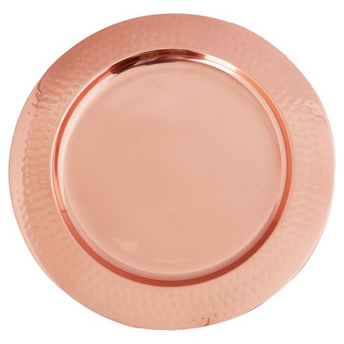 """Hammered 13"""" Charger Plate"""