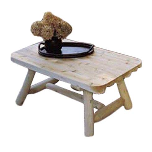 Rectangular Cedar Coffee Table - Rustic Cedar Rectangular Cedar Coffee Table & Reviews Wayfair