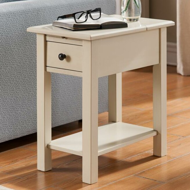 Sutton Charging End Table Amp Reviews Birch Lane