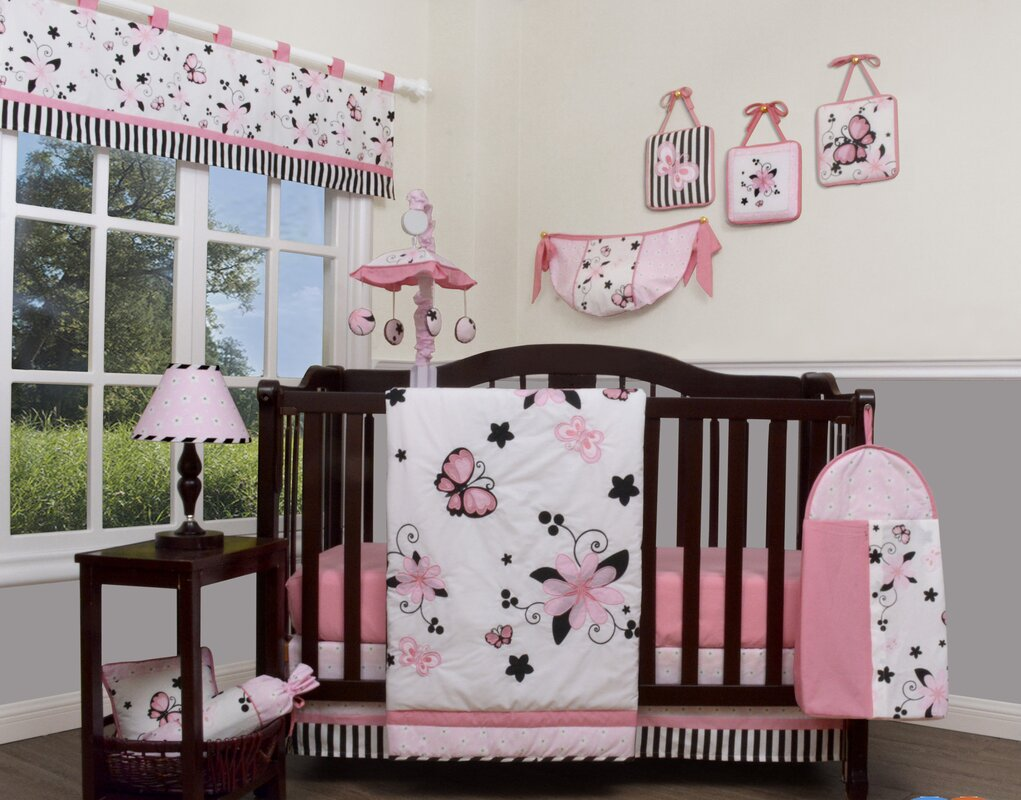 Geenny New Butterfly 13 Piece Crib Bedding Set & Reviews ...