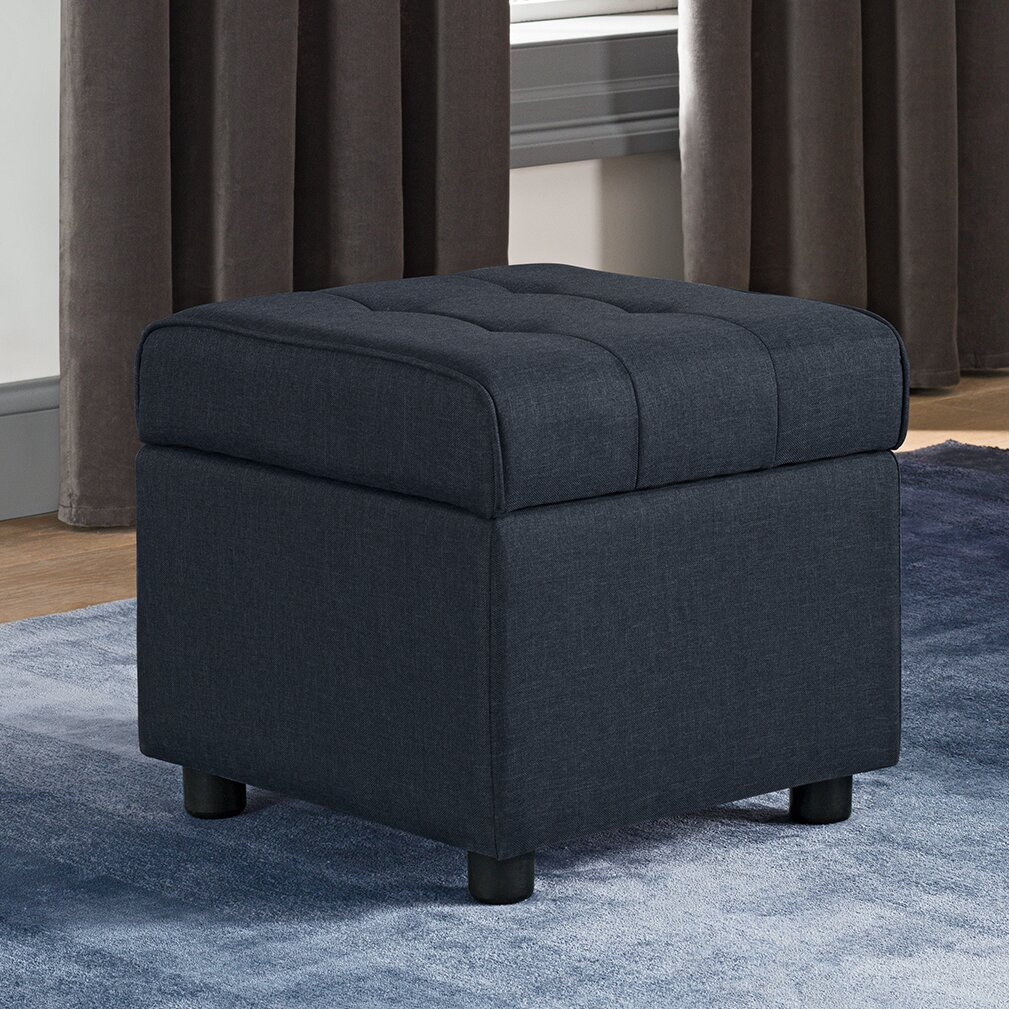 Littrell Square Storage Ottoman - Wade Logan Littrell Square Storage Ottoman & Reviews Wayfair