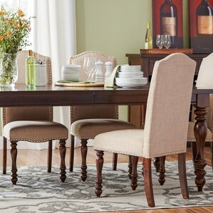 find the best upholstered kitchen & dining chairs | wayfair