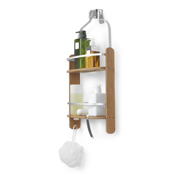 Elegant Umbra Barrel Wood Hanging Shower Caddy \u0026 Reviews | Wayfair