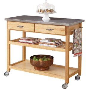 stainless steel kitchen cart. stainless steel kitchen cart