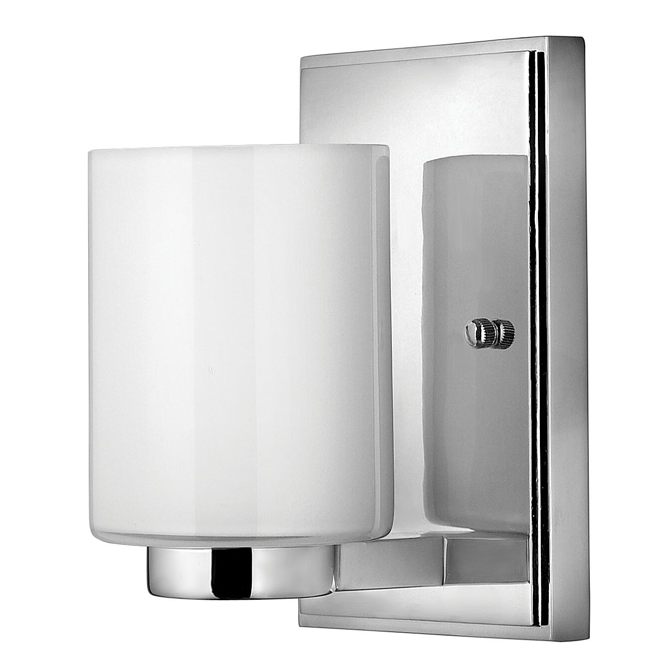 Hinkley lighting miley 1 light wall sconce reviews wayfair for Hinkley bathroom sconces