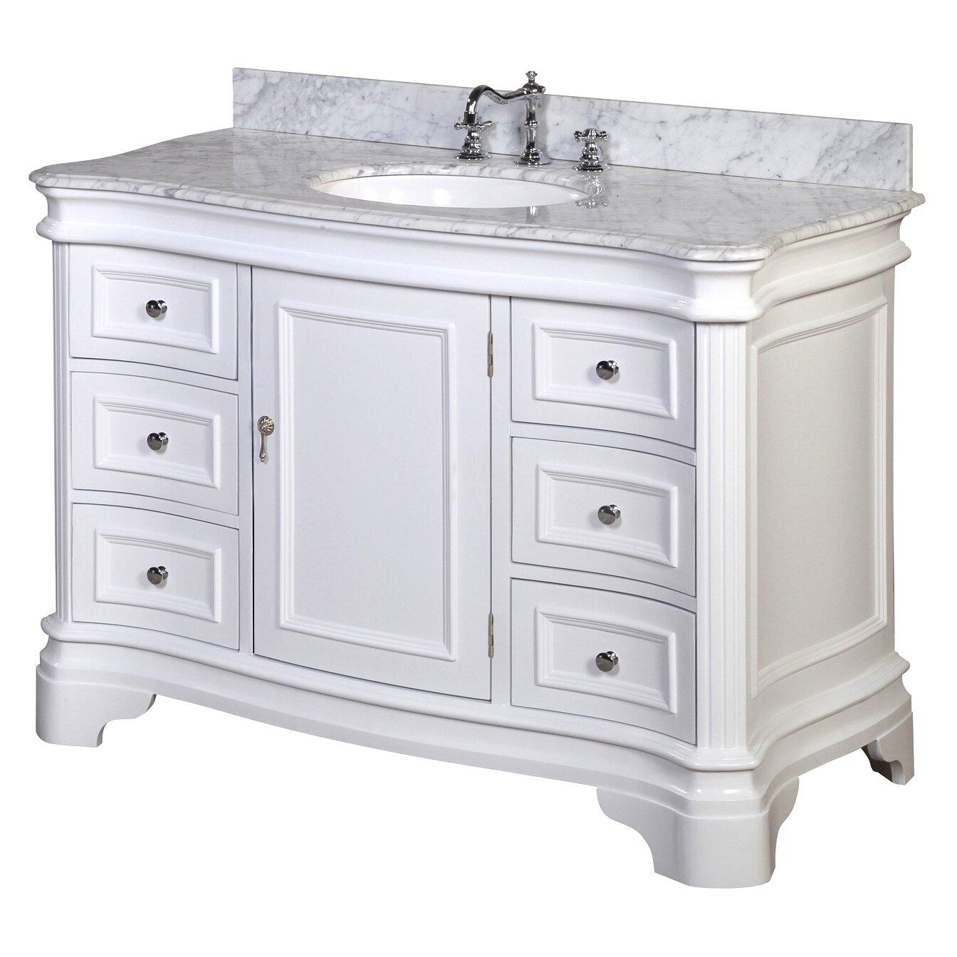"""KBC Katherine 48"""" Single Bathroom Vanity Set & Reviews"""