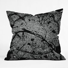 CityFabric Inc Paris Indoor/Outdoor Throw Pillow