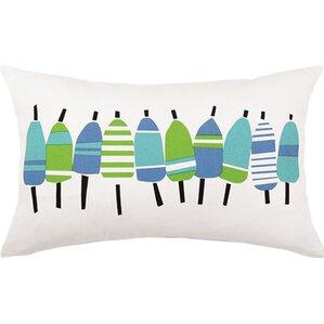 buoys outdoor 100 cotton lumbar pillow