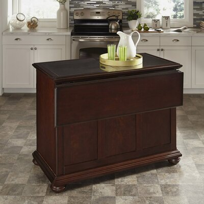Givens Kitchen Island With Granite Top