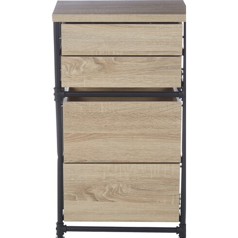 Hume Pipe 4 Drawer Storage Chest