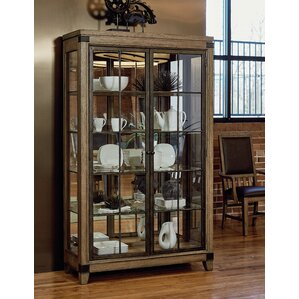 Brigadoon Lighted Curio Cabinet by Loon P..