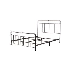 Carmelia Metal Queen Panel Bed by Williston Forge